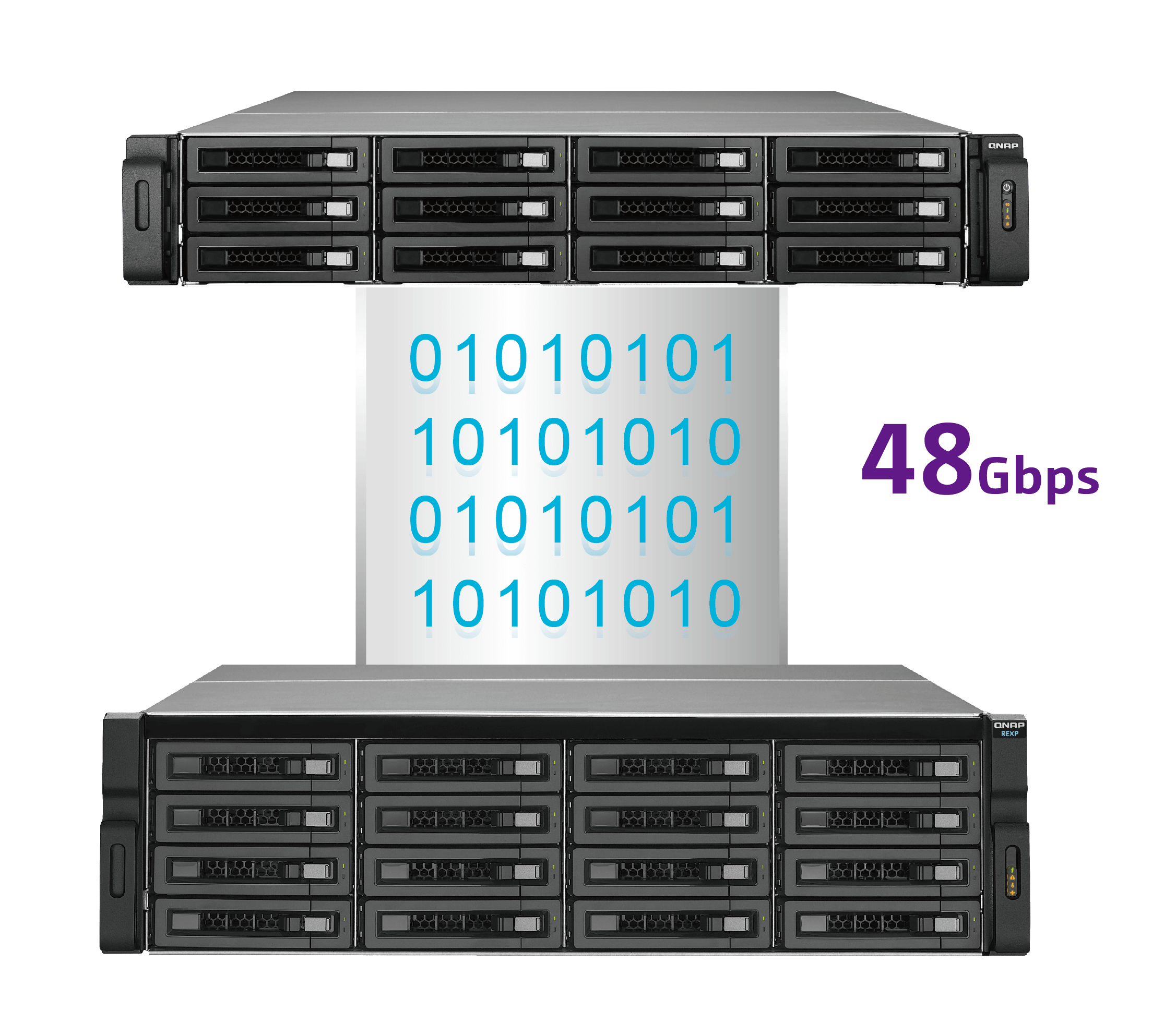 High Density, efficiency and scalability