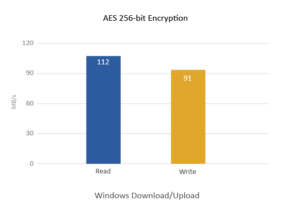 AES 256-bit Encryption