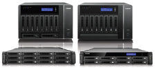 Turbo NAS Series for Recording Storage Expansion