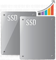 SSD caching