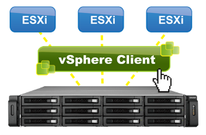 Manage QNAP NAS within vSphere Client