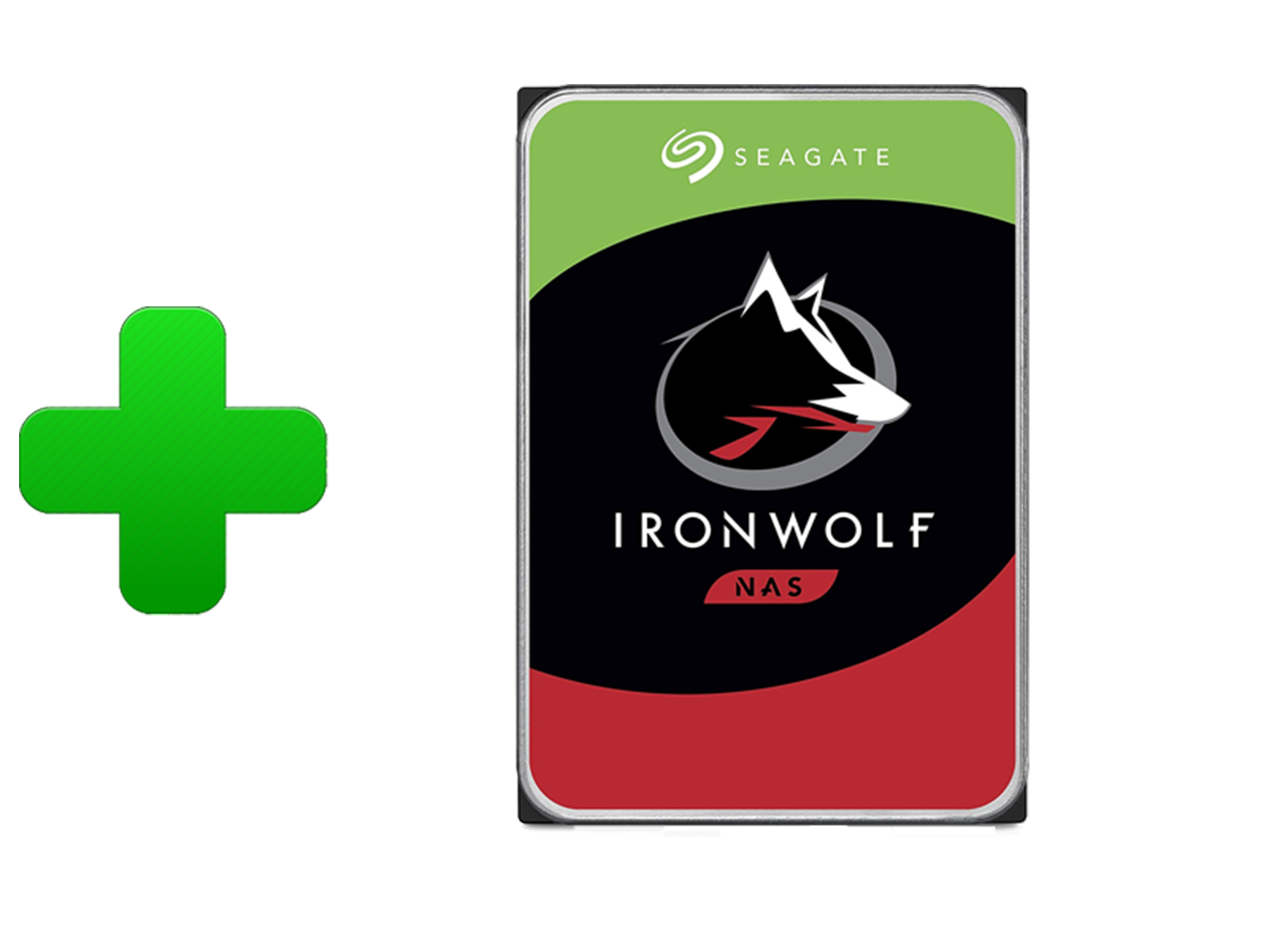 QNAP with Seagate IronWolf Hard Drives